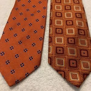 Pair of stylish Power Ties By JOS A BANK